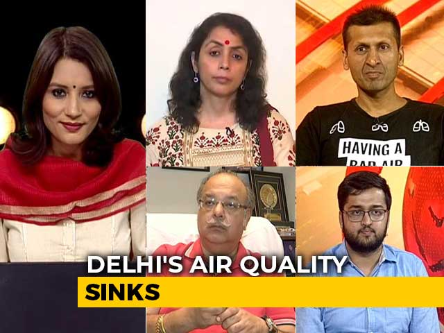 Video : Polluted Air Back In Delhi