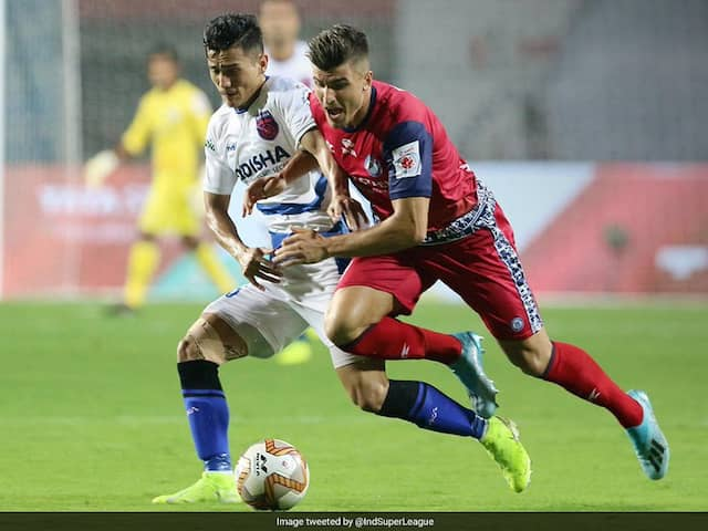 ISL: 10-Man Jamshedpur FC Beat Odisha FC 2-1 To Start Season On High