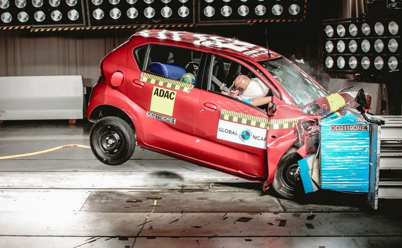 2019 Global NCAP Crash Test Rating for the Datsun redi-GO is 1 star for adult occupant protection