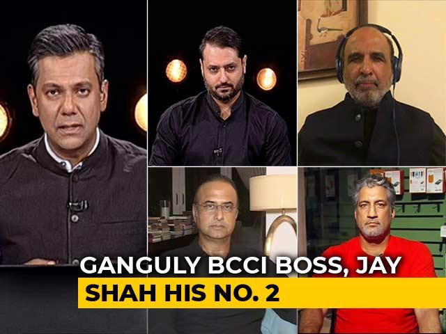 "Video : Sourav Ganguly Set To Be BCCI Chief. ""Dadagiri"" In Politics Next?"