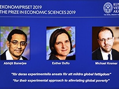 Economics Nobel For India-Born Abhijit Banerjee, Esther Duflo, M Kremer