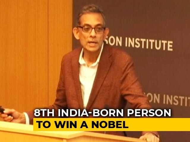 Video : Economics Nobel For Indian-American Abhijit Banerjee, Esther Duflo, M Kremer