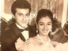 Sanjay Kapoor And Tabu In 1995 - Now That's What We Call A Throwback