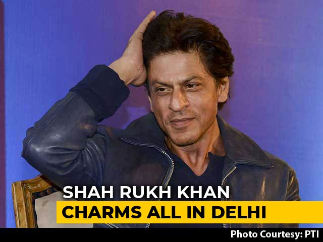 "Video : ""Because Salman, Aamir, Hrithik Were Busy..."": Shah Rukh Khan's Witty Response"