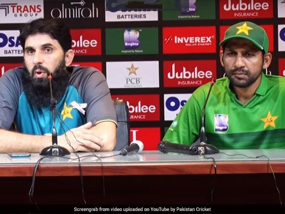 पाकिस्तानी क्रिकेटरों के रवैये से कोच मिस्बाह उल हक निराश, सरफराज अहमद सहित इन चार खिलाड़ियों से सबसे ज्यादा नाराज..