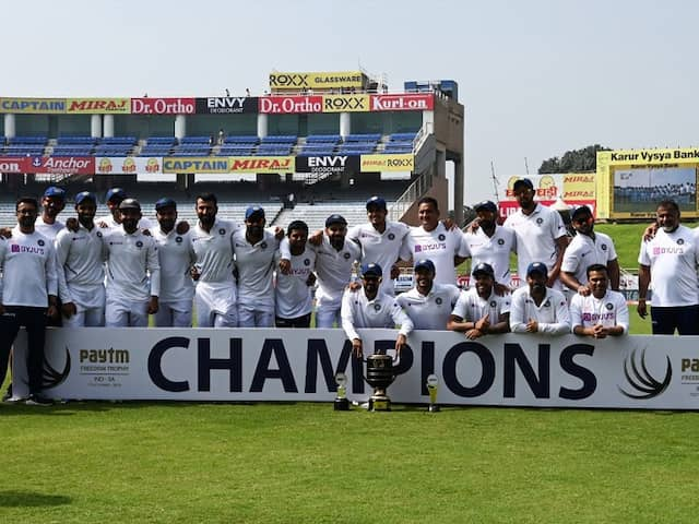 India Decimate Woeful South Africa In 3rd Test To Complete 3-0 Series Whitewash