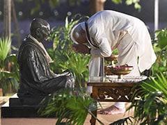 Gandhi Jayanti पर गुजरात में बोले PM मोदी, 'ग्रामीण भारत ने खुद को खुले में शौच मुक्त घोषित कर लिया है'