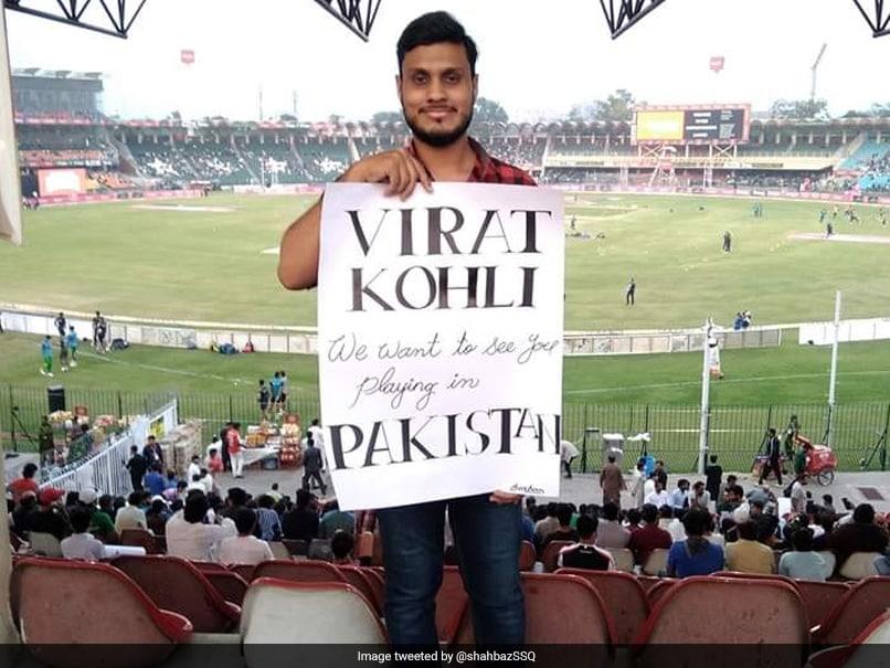 PAK vs SL T20I Series: Pakistan Fan Urges Virat Kohli to Play in Pakistan