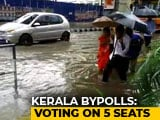 Video : Kerala Voters Battle Heavy Rain To Cast Vote In Assembly Bypolls