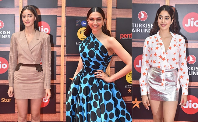 Jio MAMI Mumbai Film Festival: Deepika Padukone, Janhvi Kapoor, Ananya Panday Dazzle On The Red Carpet