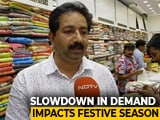 Video : Economic Slowdown Impacting Business This Festive Season, Say Traders