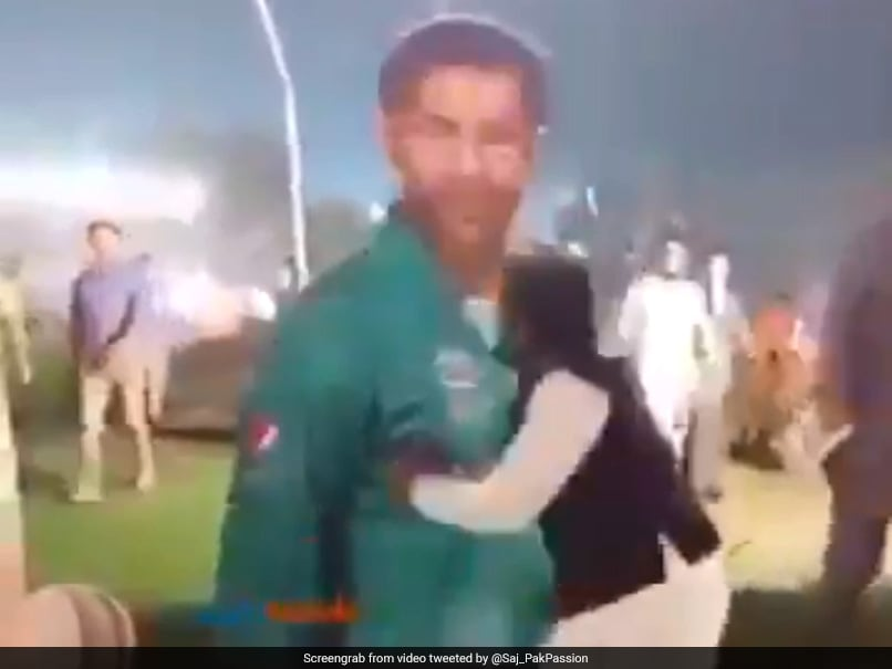 Watch: Angry Fan Demolishes Sarfaraz Ahmed Cut-Out After T20I Series Loss