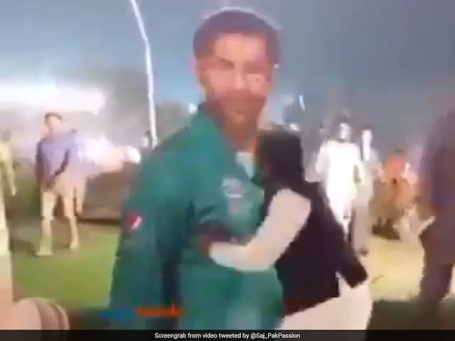 Watch: Angry Fan Demolishes Life-Size Cut-Out Of Sarfaraz Ahmed After Pakistans T20I Series Loss