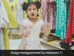Mohammed Shami Shares Adorable Video Of  Daughter