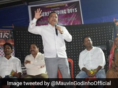 """Ploy To Rule Goans?"" Mauvin Godinho Hits Out At Navy"