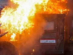 Iraq Forces Fire On Dozens Of Protesters In Baghdad