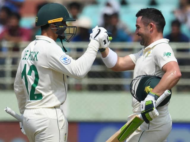 India vs South Africa, 1st Test: Dean Elgar, Quinton De Kock Star As South Africa Fight Back On Day 3