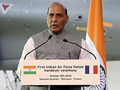 """<i>Merci</i>, France"", Rajnath Singh Concludes ""Extremely Productive"" Visit"