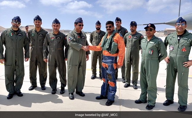 Ten-Day Drill Between Air Forces Of India, Oman Commences
