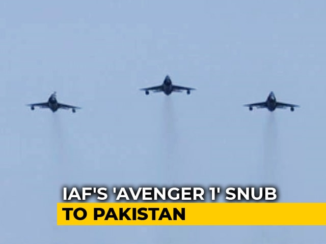 Video : On Air Force Day, IAF Disproves Pak Claim Of Shooting Down Sukhoi Fighter