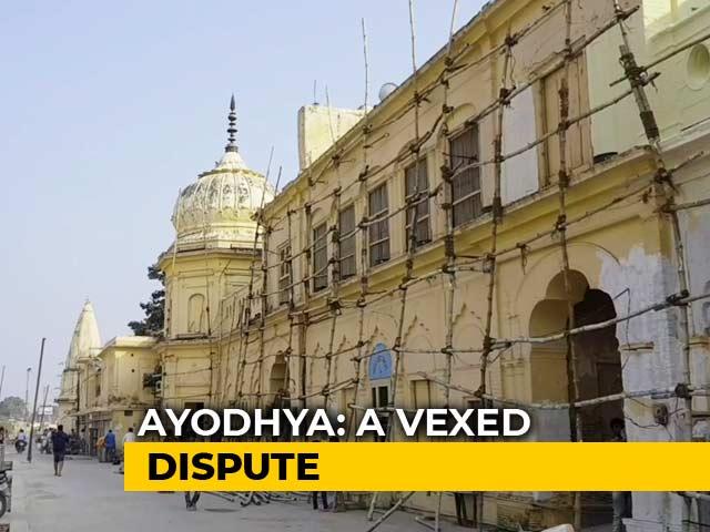 Video : Ayodhya Dispute: 134 Year Long Journey