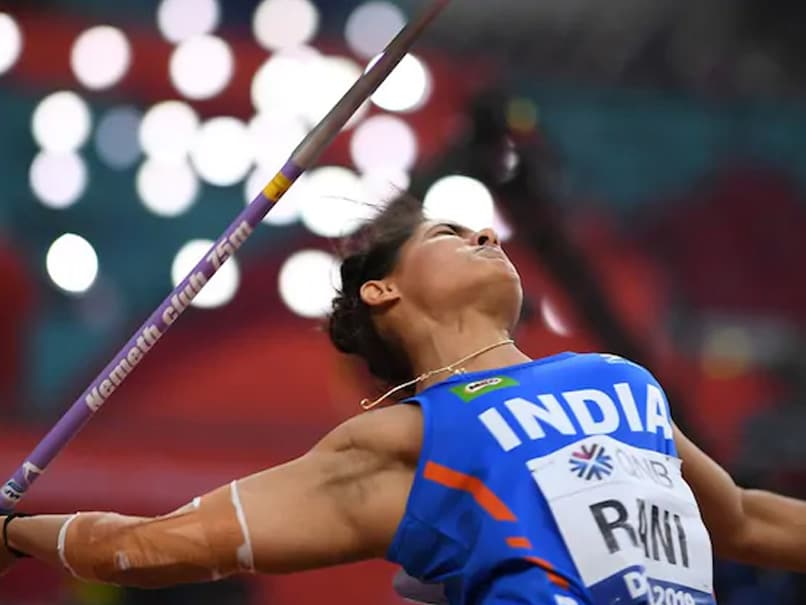 National Open Athletics Championships: Annu Rani Wins Womens Javelin Throw Gold