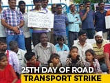 Video : Suicides Mount As Telangana Transport Strike Crawls Into 25th Day