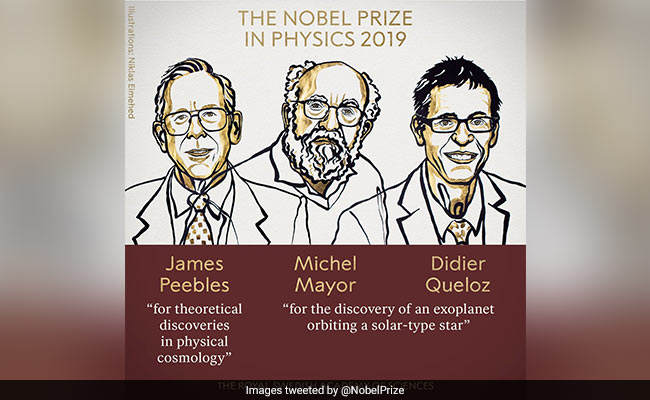 """Nobel Prize in Physics Awarded For """"New Understanding Of Universe"""""""