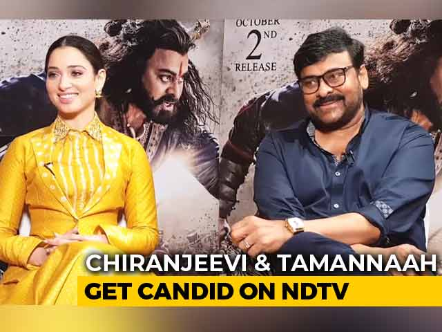 Chiranjeevi And Tamannaah Bhatia On Sye Raa Narasimha Reddy And More