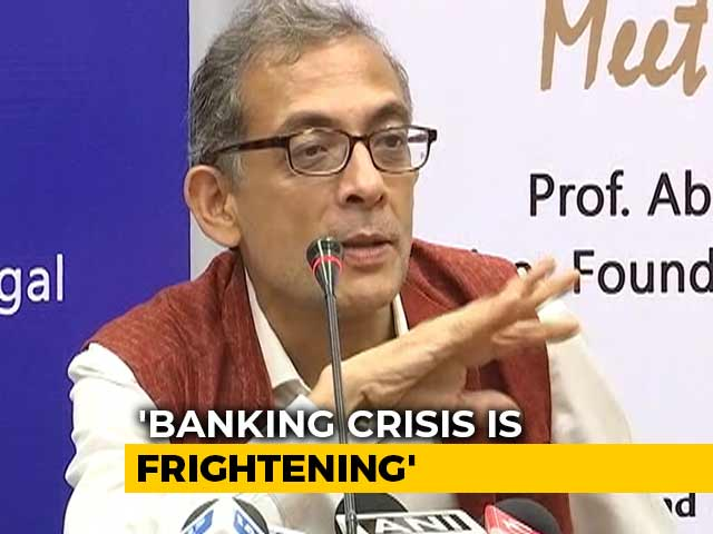 """Video : """"Reduce Centre's Equity"""": Abhijit Banerjee's Solution To Banking Crisis"""