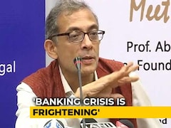 "Video: ""Reduce Centre's Equity"": Abhijit Banerjee's Solution To Banking Crisis"