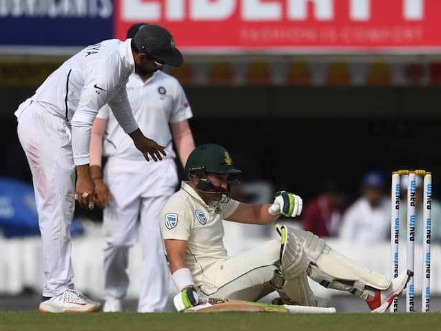 India vs South Africa: Dean Elgar Ruled Out, Theunis de Bruyn Named Concussion Replacement