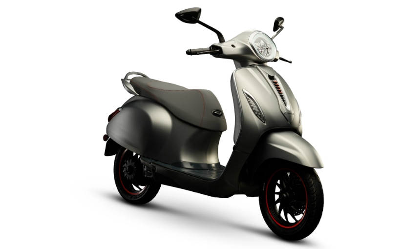 The Bajaj Chetak electric scooter marks Bajaj Auto's foray into the electric vehicle space