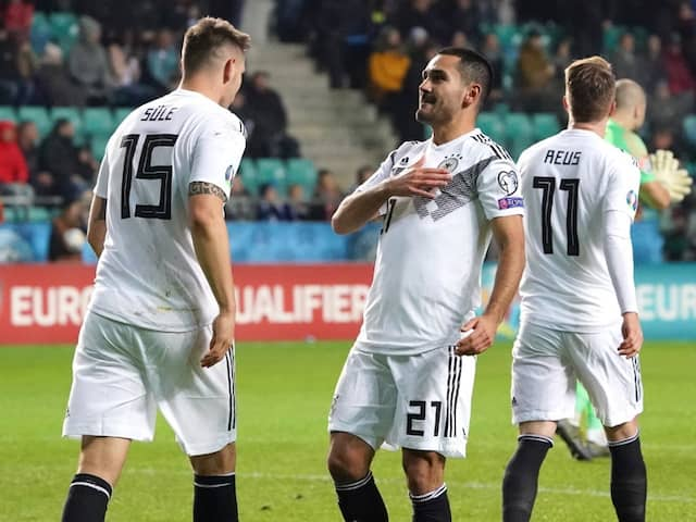 Estonia vs Germany, Euro Qualifiers: Ilkay Gundogan Double Rescues Germany After Emre Can Sees Red