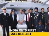 Video : India Gets First Rafale Jet From France