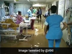 Water Enters Intensive Care Unit Of Hyderabad Hospital After Heavy Rain