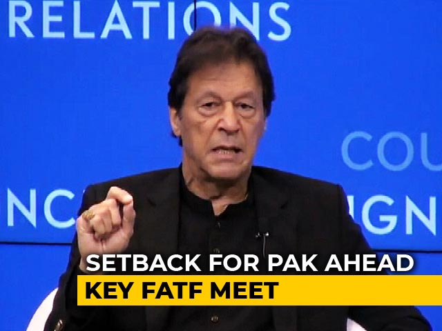 "Video : ""Pak Hasn't Taken Sufficient Measures"": Terror Watchdog FATF's Report"