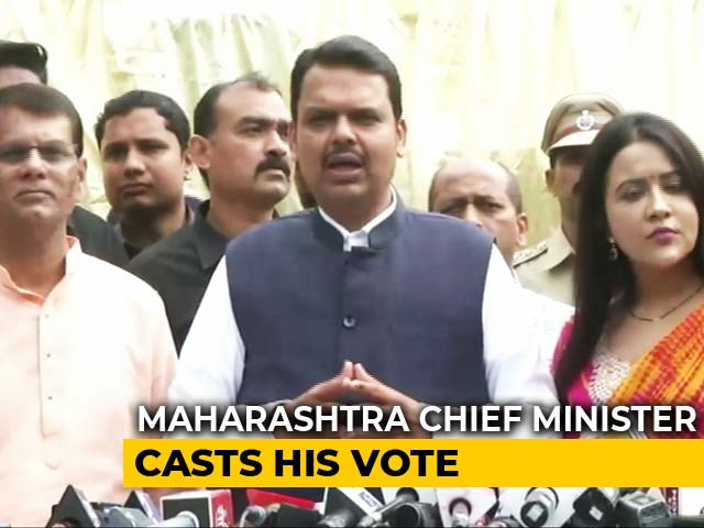 Festival Of Democracy': Devendra Fadnavis Votes With His Family