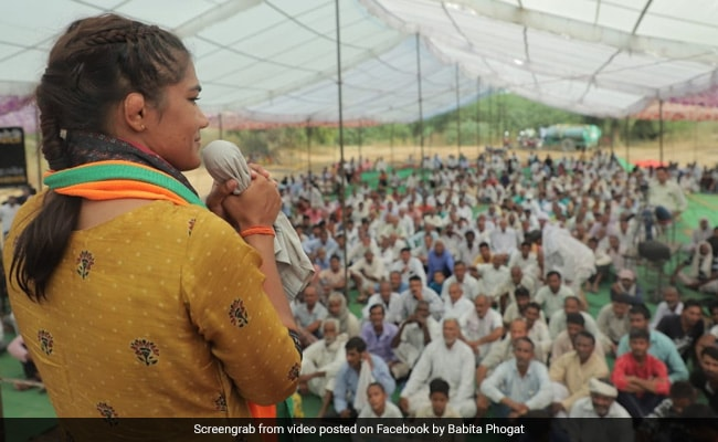 Haryana Elections 2019 - 'Now That I Have Entered Political Dangal...': Babita Phogat's Appeal