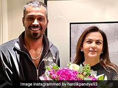 "Hardik Pandya Thanks Nita Ambani For Visit, Says ""Humbled By Your Gesture"". See Pic"