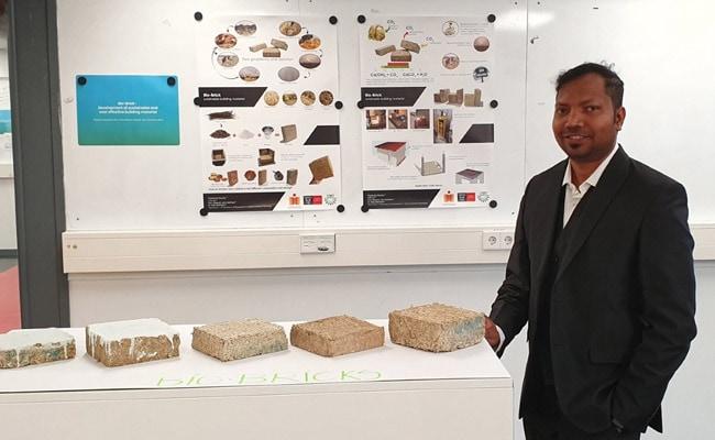 IIT Hyderabad, KIIT Bhubaneshwar Researchers Develop 'Bio-Bricks' From Sugarcane Residue