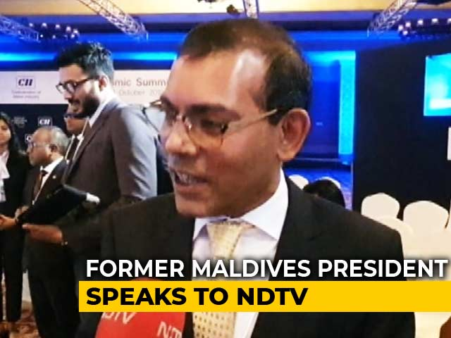"Video : ""Ties With India Important For Our Growth"": Former Maldives President Mohamed Nasheed"