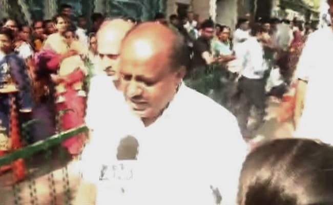 एचडी कुमारस्वामी ने कहा- बेंगलुरु में कांग्रेस पार्टी की योजना नहीं चलेगी...