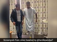 Hardik Pandya Begins His Journey To Recovery After Lower Back Surgery. Watch