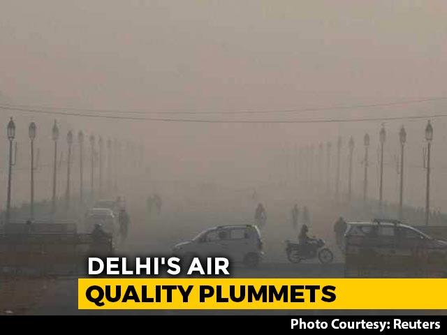 Video : Delhi's Air Quality Sinks; Farm Waste Burning In Punjab, Haryana Blamed