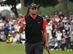 Tiger Woods On Brink Of PGA Tour Win Record As Play Suspended In Japan