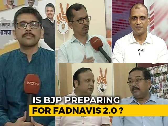 Video : Maharashtra Elections: Is BJP Preparing For Fadnavis 2.0?