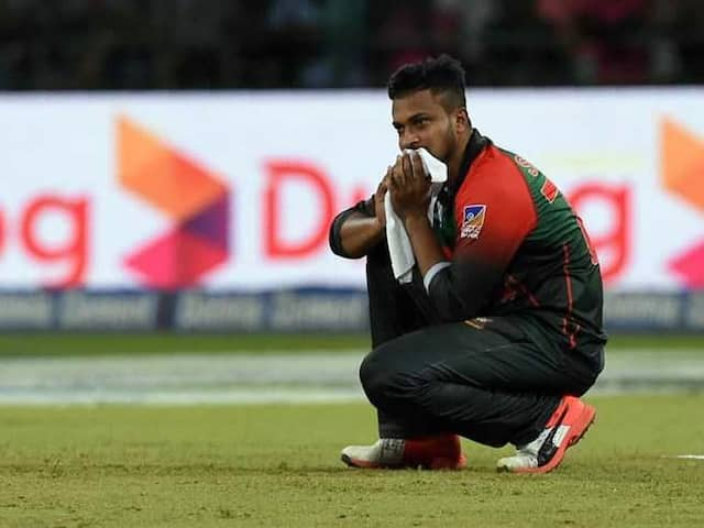 India vs Bangladesh: Shakib Al Hasan banned from all cricket for two years
