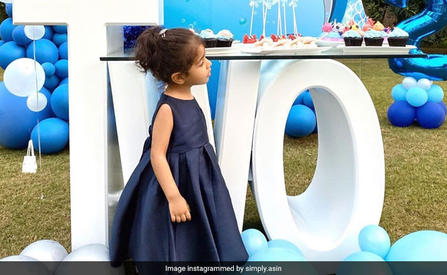 Inside Asin's Daughter Arin's 2nd Birthday Party. See Pics
