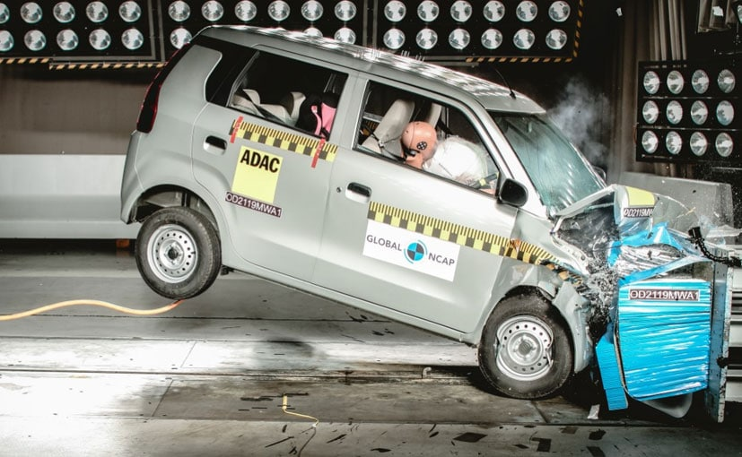 2019 Global NCAP crash test rating for Maruti Suzuki Wagon R is 2 Stars
